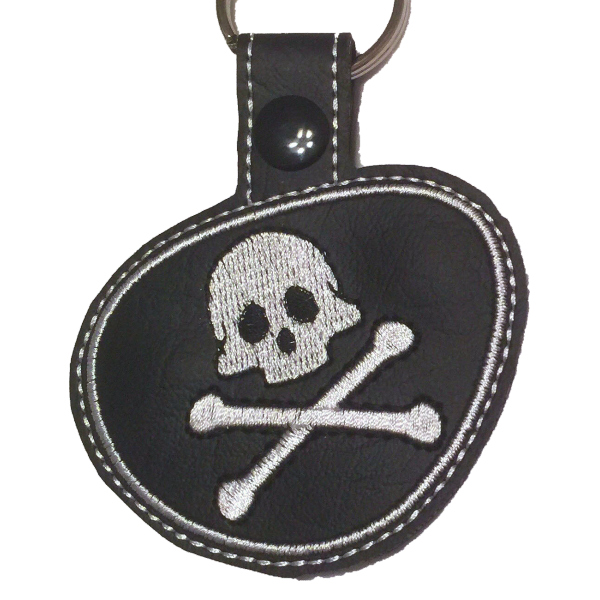 Pirate Patch Snap Tab