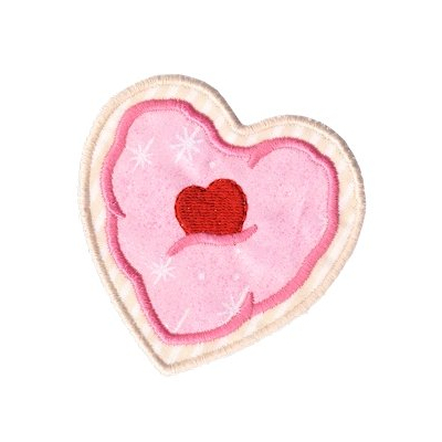 Heart Cookie 4x4