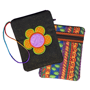 Flower Power Gadget Bag