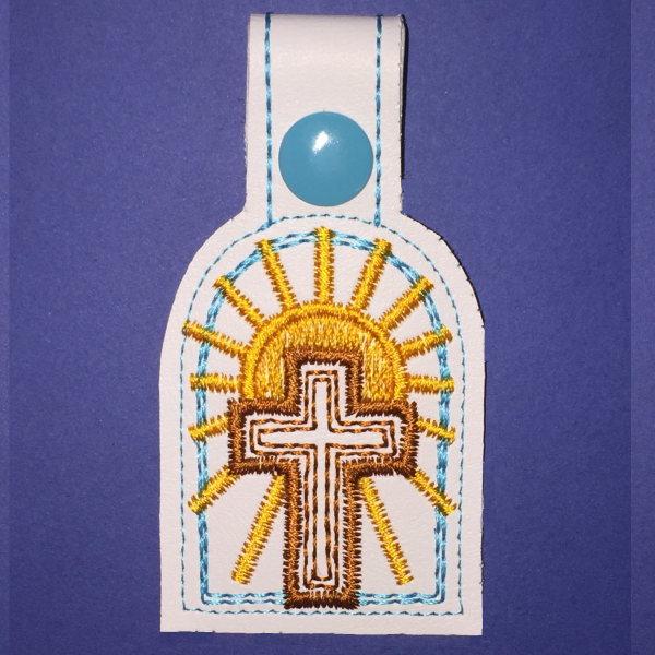 Easter Cross Snap Tab