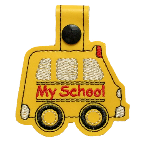 School Bus Snap Tab